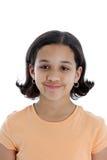 Child On White Background Royalty Free Stock Image