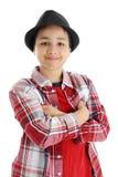 Child On White Background Stock Photos
