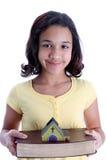 Child On White Background Royalty Free Stock Photography