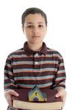 Child On White Background Stock Photo