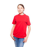 Child on white Stock Photography