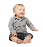 Child on white Stock Image