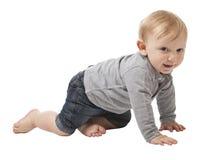 Child on white Royalty Free Stock Photo