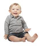 Child on white Royalty Free Stock Photos