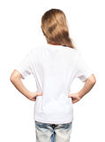 Child in white t-shirt Stock Photography