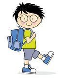 Child who goes to school Stock Photos