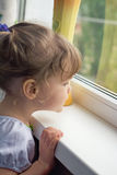Child window Stock Photography