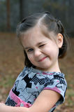 Child Winks Royalty Free Stock Images