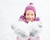 child winter Стоковые Фотографии RF