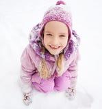 child winter Стоковая Фотография