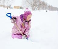child winter Стоковое фото RF