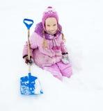 child winter Стоковые Фото