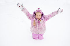 child winter Стоковые Изображения RF