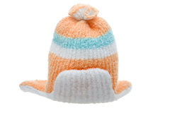 Child winter clothes cap Stock Image