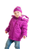 Child in winter clothing Royalty Free Stock Image