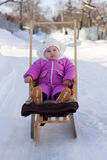 Child winter Royalty Free Stock Photography