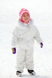Child in winterwear Royalty Free Stock Photo