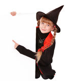 Child  witch Stock Images