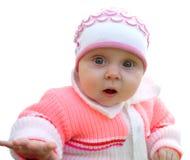 Child wonder. Child fascination.Child look  forward Stock Image