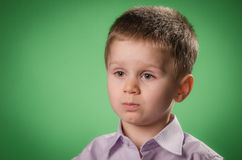Child wondering Stock Image