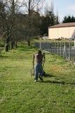Child working Stock Photo