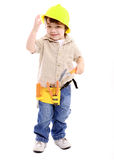 Child working Royalty Free Stock Photography