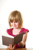 Child Writing In Diary Stock Photos