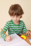 Child Writing, School Education Royalty Free Stock Photo