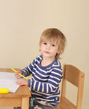 Child Writing, School Education Stock Images