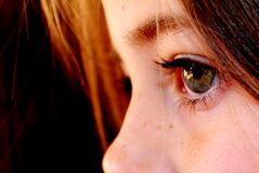 Child's eyes Stock Photography
