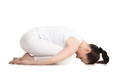 Child yoga Pose Stock Images
