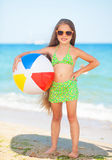 Childat the beach Stock Images