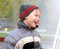 Childboy al aire libre Imágenes de archivo libres de regalías