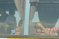 Childern de Siria Imagenes de archivo