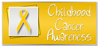 Childhood Cancer Awareness Stock Image