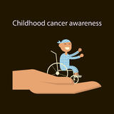 Childhood cancer day Royalty Free Stock Image