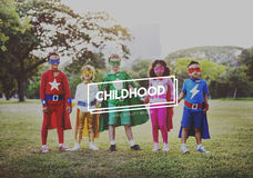 Childhood Childlike Child Children Kids Offspring Concept. Childhood Childlike Child Children Kids Offspring Royalty Free Stock Photo