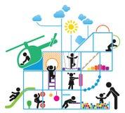 CHILDHOOD Stock Image