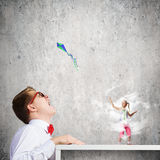 Childhood concept Royalty Free Stock Photography