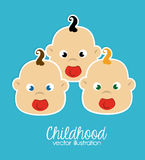 Childhood design Stock Photo