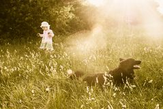 Childhood dreams Royalty Free Stock Photography