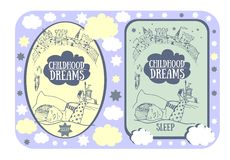 Childhood dreams Royalty Free Stock Photos