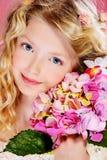 Childhood flowers Stock Photo
