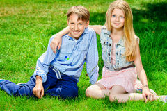Childhood friends Royalty Free Stock Photos