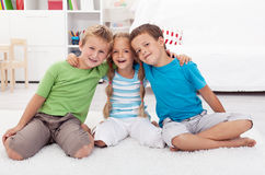 Childhood friendship Royalty Free Stock Photos