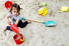 Childhood - Games Royalty Free Stock Photography