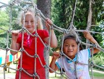 Childhood Girls Royalty Free Stock Image