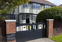 Childhood Home of John Lennon in Liverpool Stock Images
