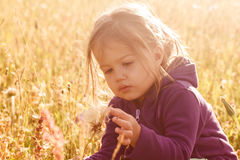 Childhood in the Nature Stock Photography