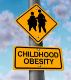 Childhood Obesity Royalty Free Stock Image